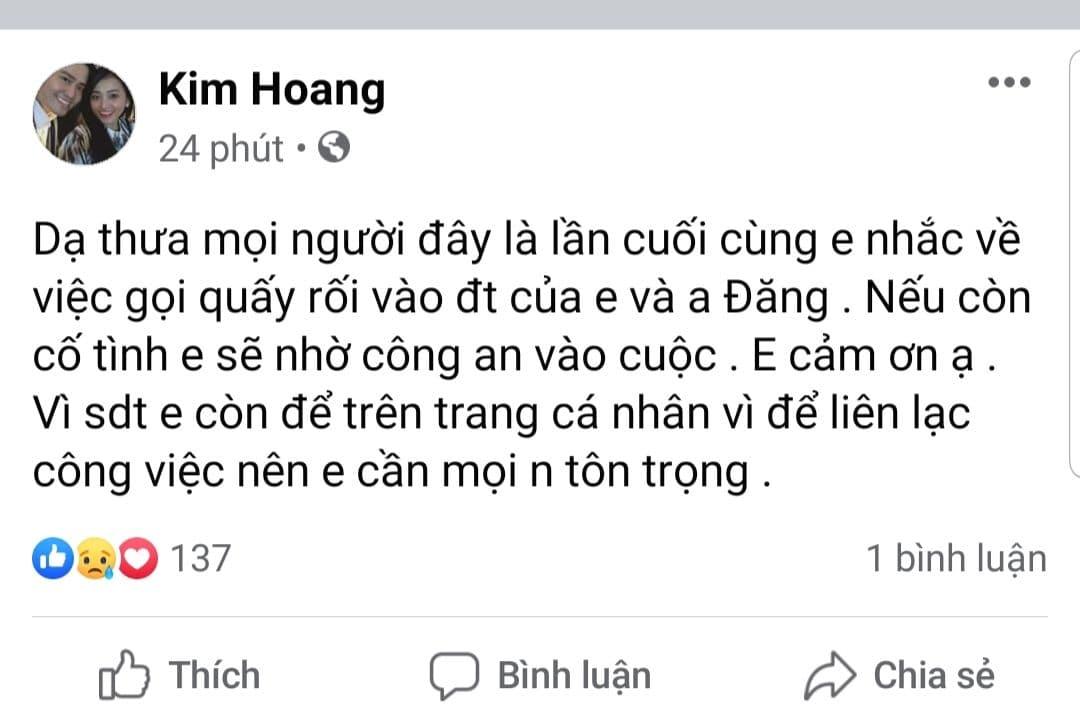 Phẫn nộ việc điện thoại của cố diễn viên Hải Đăng bị gọi quấy rối sau tang lễ, vợ sắp cưới quyết nhờ công an vào cuộc-1