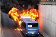 Phong tỏa hầm chui An Sương để điều tra vụ cháy xe buýt