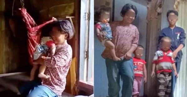 Bé gái 11 tuổi buộc phải sắm vai bà mẹ nhí của những đứa trẻ nheo nhóc khiến ai nhìn cũng xót xa, sự thật phía sau gây xúc động không kém-1
