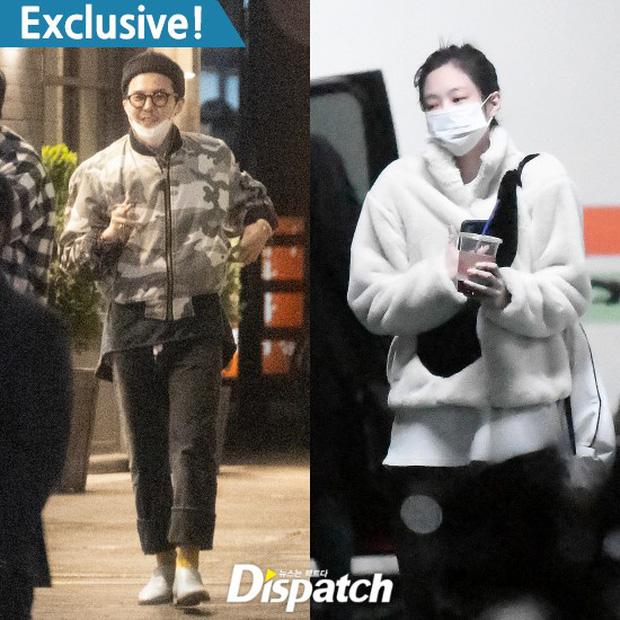 Chấn động: G-Dragon và Jennie (BLACKPINK) hẹn hò, Dispatch tóm gọn loạt ảnh bằng chứng!-1