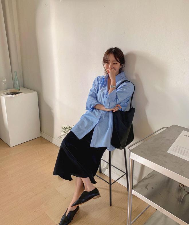 """Trời xuân ấm áp, diện sơ mi theo 5 công thức ruột"""" của gái Hàn là đảm bảo vừa xinh, vừa sang hết ý-20"""