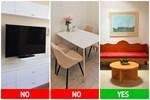 Những sai lầm về vị trí để đồ đạc mà hầu như chủ nhà nào cũng mắc phải