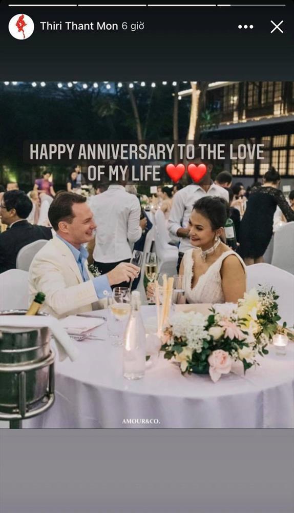 Chồng cũ Hồng Nhung và vợ đại gia kỷ niệm ngày cưới bằng loạt ảnh tình tứ-3