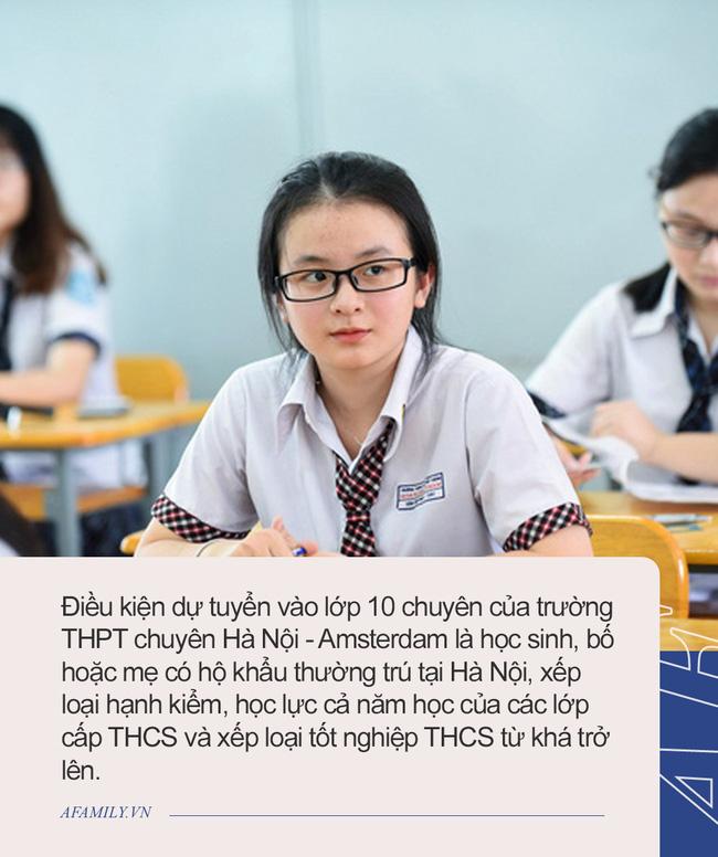 Những thông tin cần biết về 4 trường chuyên ở Hà Nội, học sinh so điểm chuẩn các năm gần nhất để tự lượng sức thi-2