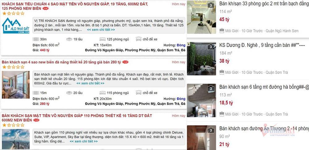 Chịu không nổi, đại gia Hà Nội bán rẻ khách sạn trăm tỷ ở Đà Nẵng cắt lỗ-1