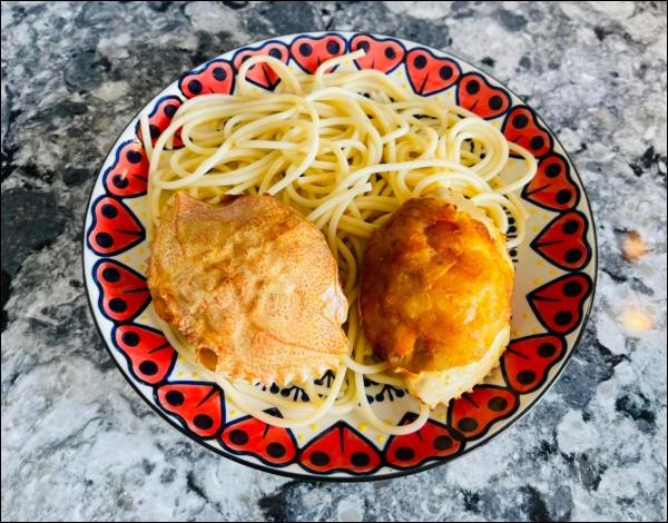 Sau Tết, Vân Hugo khéo vào bếp trổ tài làm món ốc om chuối đậu chuẩn vị Bắc, vừa ngon lại giải ngánai cũng mê-5