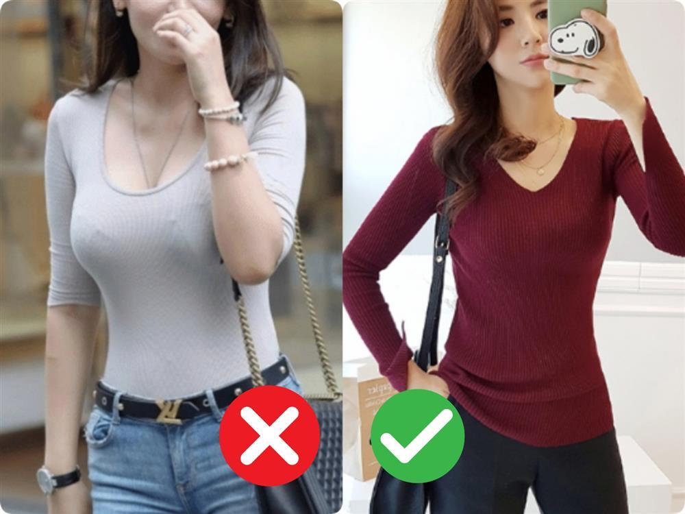 Đừng khiến bản thân trở nên lố lăng kém sang với những kiểu áo cổ V nhạy cảm này-6