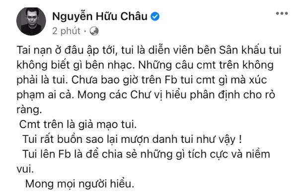 Bị nghi đá xéo Sơn Tùng M-TP, NSƯT Hữu Châu lên tiếng làm rõ-2
