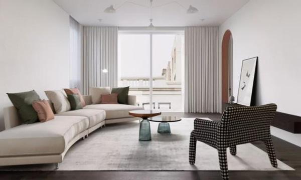Làm thế nào để chọn kích thước đồ nội thất cho căn nhà rộng hơn 100m2? Mách bạn mẹo hay giúp không gian nhà trở nên đẹp thoáng đãng và tinh tế-2