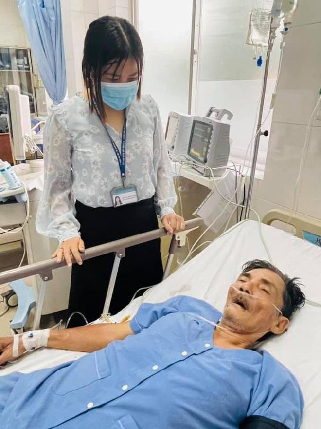 Diễn viên Thương Tín đột quỵ nhập viện cấp cứu tại bệnh viện quận 12, sức khoẻ rất yếu-3