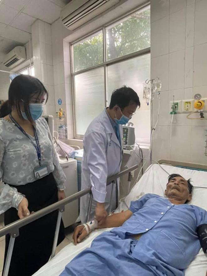Diễn viên Thương Tín đột quỵ nhập viện cấp cứu tại bệnh viện quận 12, sức khoẻ rất yếu-4