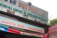 Bắt quả tang nữ nhân viên khỏa thân phục vụ khách ở tiệm massage