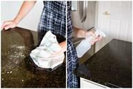Làm thế nào để làm sạch và khử trùng mặt bàn đá trong bếp? Ai cũng tưởng đơn giản nhưng lại có những 'cấm kỵ' ít người biết!