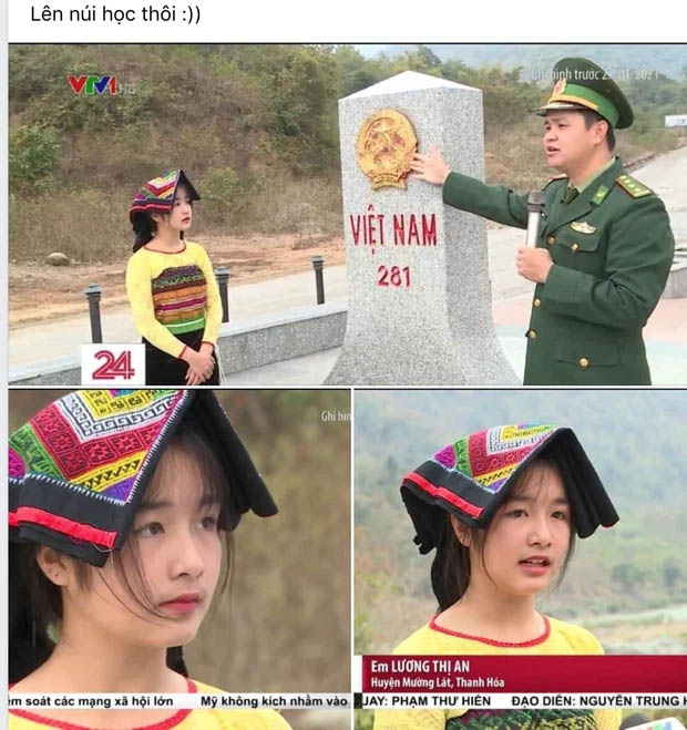 Gái xinh vùng cao xuất hiện trong bản tin thời sự khiến netizen phục êkip chương trình: Chọn khéo thật!-1