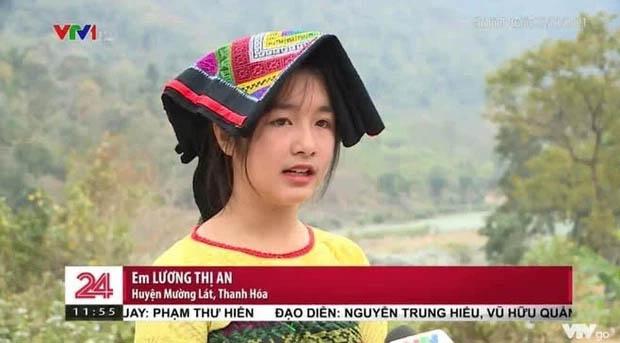 Gái xinh vùng cao xuất hiện trong bản tin thời sự khiến netizen phục êkip chương trình: Chọn khéo thật!-2