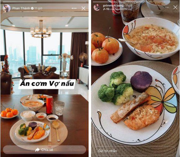 Phan Thành sử dụng mạng xã hội có lẽ chỉ để nịnh vợ, nghìn năm mới xuất hiện nhưng toàn khen vợ nấu ăn ngon-3