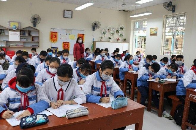 Học sinh Hà Nội đi học trở lại từ ngày 2/3-1
