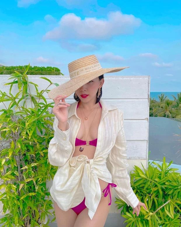 Tóc Tiên diện bikini khoe body đẹp như tạc-1