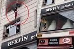 Tòa nhà bốc cháy ngùn ngụt, mẹ ném 4 con từ tầng 3 xuống đất mặc lời can ngăn, cảnh hiện trường khiến tất cả mọi người 'đứng tim'