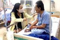 Hình ảnh mới nhất của diễn viên Thương Tín: Sức khỏe đã ổn, có thể ngồi ăn và nói chuyện được