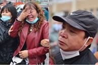 Ảnh: Cha mẹ bịn rịn khóc nức nở, cố với theo cửa kính ô tô tạm biệt các tân binh lên đường nhập ngũ