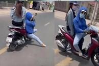 Cô gái khiến cánh đàn ông chạy xe trên đường phải 'toát mồ hôi hột', ngoái lại nhìn