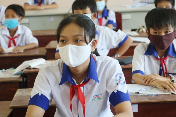Mới: Một tỉnh thông báo khẩn cho học sinh nghỉ học sau khi phát hiện có trường hợp dương tính với SARS-CoV-2-1