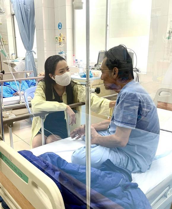 Vợ nghệ sĩ Thương Tín kể chồng muốn về nhà: Ảnh nói ảnh không ổn, chắc không sống được đâu-1