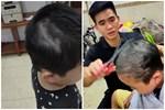 Con trai nghịch dại lấy kéo tự cắt một mảng tóc, bố liền ra tay kèm lời nhắn: 'Yên tâm để bố sửa cho' và cái kết khiến 'tình phụ tử rạn nứt'