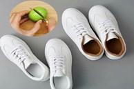Giày trắng bẩn lấm lem, nhớ ngay mẹo nhỏ này để giày sáng đẹp trở lại