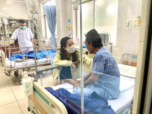 NS Trịnh Kim Chi công bố đã kêu gọi được hơn 270 triệu giúp đỡ NS Thương Tín, con gái vừa đến thăm bố ở bệnh viện-3