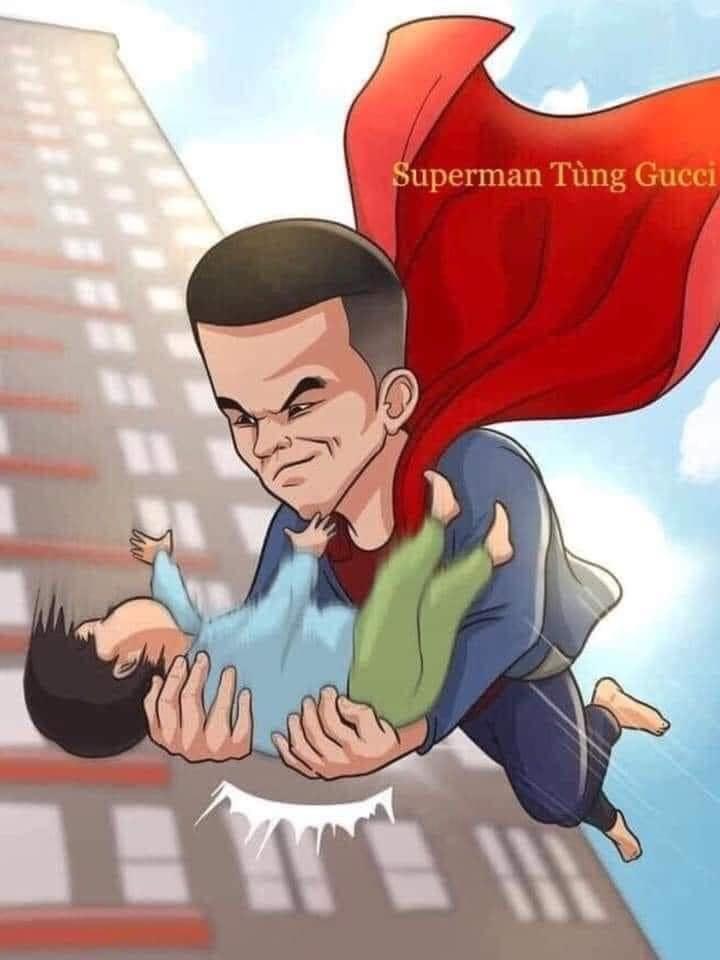 Chàng trai cứu cháu bé rơi từ tầng 12 chung cư nhận mưa lời khen, được vẽ tranh siêu anh hùng giữa đời thực-3