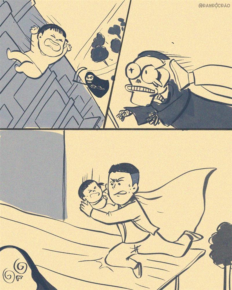 Chàng trai cứu cháu bé rơi từ tầng 12 chung cư nhận mưa lời khen, được vẽ tranh siêu anh hùng giữa đời thực-4