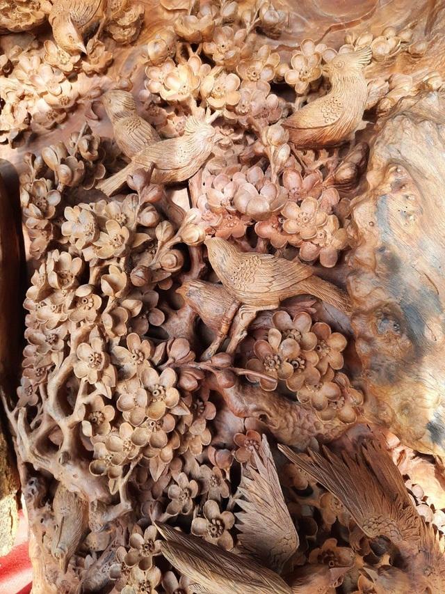 Choáng ngợp với bình hồ lô bằng gỗ, nặng 6 tấn độc nhất Việt Nam-2