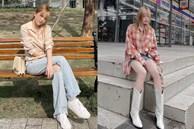 Thiều Bảo Trâm và 1001 kiểu mix đồ với giày trắng, vừa đơn giản vừa xứng danh 'bánh bèo sành điệu'!