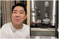 Hào hứng khoe biệt thự mới và phòng tắm siêu xịn, Trấn Thành nói: 'Chậu rửa mặt xấu nên nhiều người để miệng thúi không đánh răng'