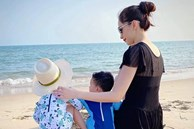 Đăng khoảnh khắc Đặng Thu Thảo bên hai con, chồng doanh nhân tự hào: 'Vợ ngoan con hiền'