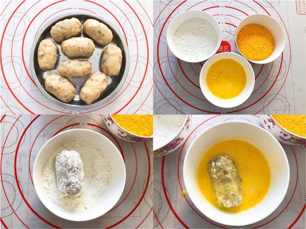 Dùng nồi chiên không dầu làm khoai tây viên giòn thơm ngon xuất sắc-4