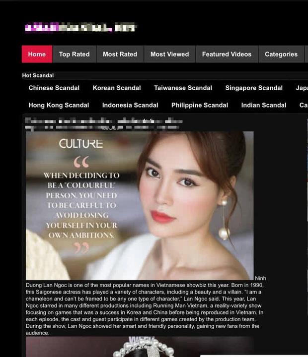 NÓNG: Nghi vấn Ninh Dương Lan Ngọc lộ clip giường chiếu trên trang web đen-3