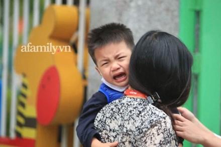 Vừa buồn cười vừa thương khi xem loạt ảnh trẻ mầm non khóc mếu, dỗi ra mặt trong ngày đầu đi học lại: Đang yên đang lành lại bắt dậy sớm!