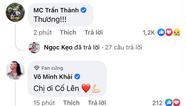 Phản ứng gây chú ý của Trấn Thành ngay dưới status đính chính của Lan Ngọc: Chỉ 1 chữ đủ nói lên tất cả!-1
