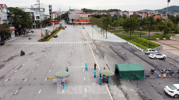 Toàn cảnh TP. Chí Linh trước giờ gỡ phong tỏa-2