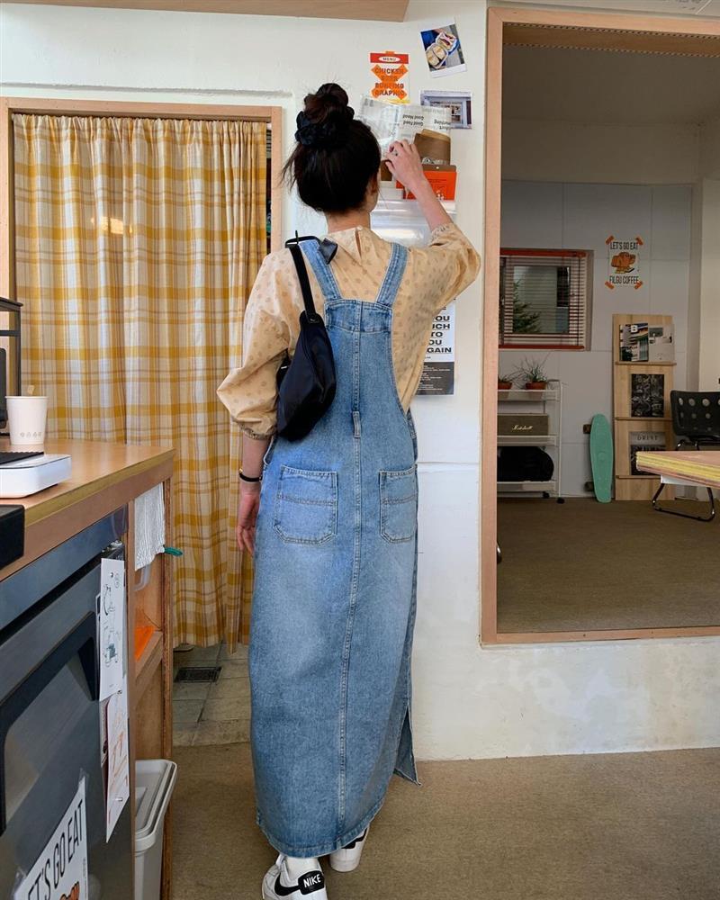 Làm mới loạt items cũ trong tủ đồ bằng 12 công thức mix&match xinh tươi, trendy của hội gái Hàn-5
