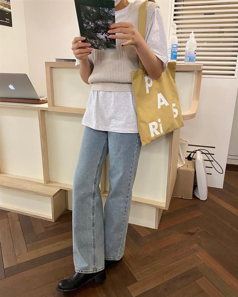 Làm mới loạt items cũ trong tủ đồ bằng 12 công thức mix&match xinh tươi, trendy của hội gái Hàn-7