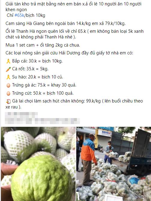 Người dân Hà Nội xếp hàng mua gà giải cứu 60k/kg, thị trường online thêm tấp nập với cam Hà Giang 7k/kg-8