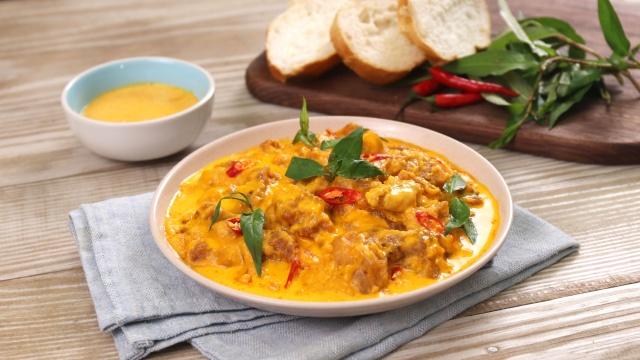 Mách chị em cách làm sụn gà sốt trứng muối: Dùng làm món chính hay món ăn vặt đều đi vào lòng người-7