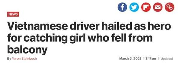 Thêm hàng loạt tờ báo lớn tại Mỹ, Nga, Hàn Quốc gọi anh Nguyễn Ngọc Mạnh là siêu anh hùng đời thực khi cứu sống bé gái 3 tuổi-1