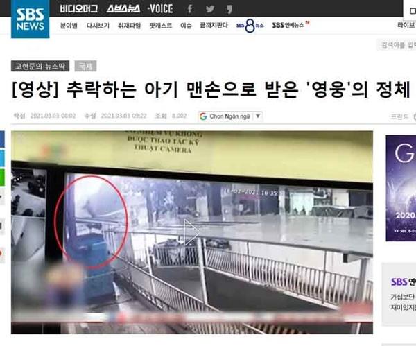 Thêm hàng loạt tờ báo lớn tại Mỹ, Nga, Hàn Quốc gọi anh Nguyễn Ngọc Mạnh là siêu anh hùng đời thực khi cứu sống bé gái 3 tuổi-7