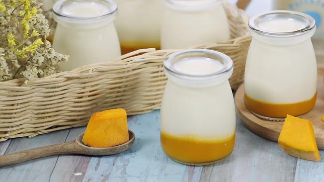 Sữa chua làm theo cách này không dành chogiảm cân, chỉ hợp vớichị em muốn ăn ngon,không quan tâm cân nặng-1