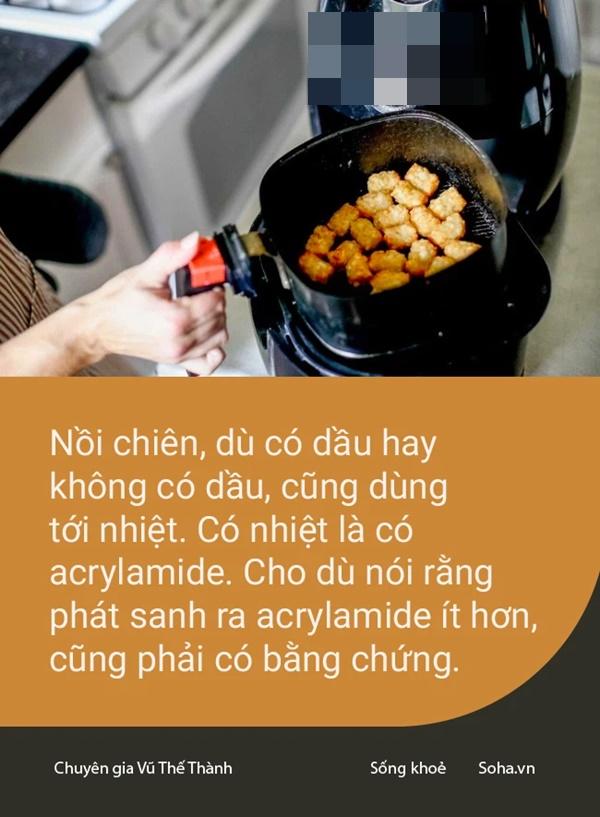 Vụ nồi chiên không dầu gây ung thư: Hiệp hội ở Hồng Kông có lý - nhưng sự thật lại bị cắt xén mất một nửa!-2